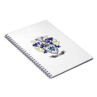 Lyons Family Crest Coat of Arms Notebook