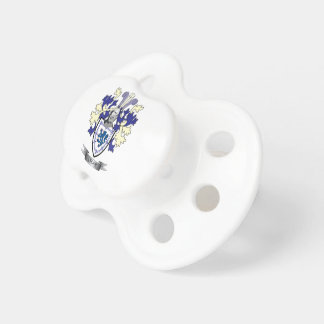 Lyons Family Crest Coat of Arms Pacifier