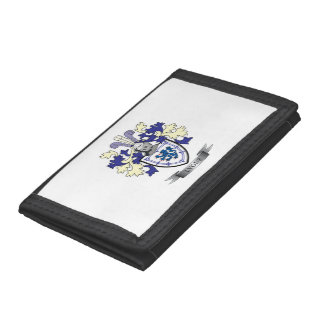 Lyons Family Crest Coat of Arms Trifold Wallet