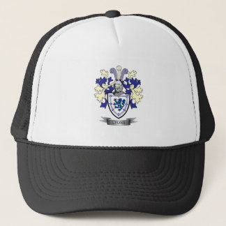 Lyons Family Crest Coat of Arms Trucker Hat