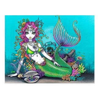 Lyra Gothic Mermaid Postcard