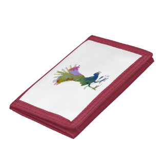 Lyrebird Tri-fold Wallet