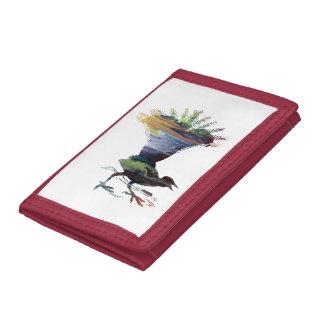 Lyrebird Tri-fold Wallets