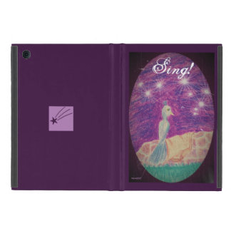 Lyric Fantasy Nightingale Choose Background Color iPad Mini Case