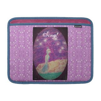 Lyric Fantasy Nightingale Starry Background MacBook Sleeve