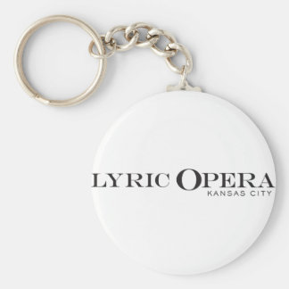Lyric Opera of Kansas City Keychain