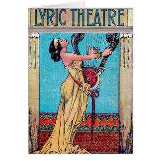 Lyric Theater Card