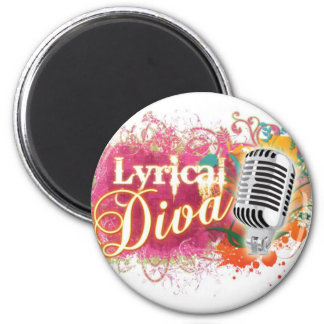 LYRICALDIVA2copy Magnet