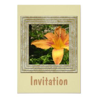 Lys Flower Closeup Card