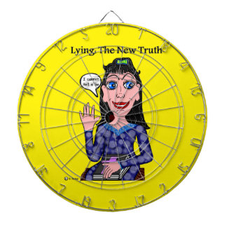 Lyza is Lying: The New Truth Dart Boards