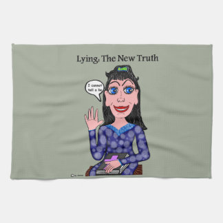Lyza is Lying: The New Truth Kitchen Towel