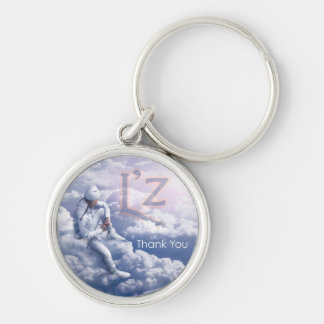 "L'z ""Thank You"" Premium Round Keychain"