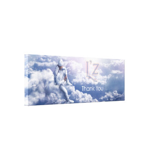 "L'z-""Thank You"" Premium Wrap Canvas 36""x12"", 1.5"""