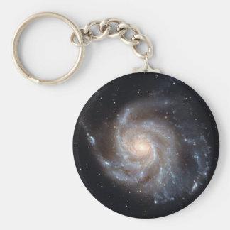 M101 The Pinwheel Galaxy (NGC 4547) Basic Round Button Keychain