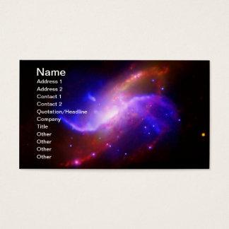 M106 Spiral Galaxy emission NASA Business Card