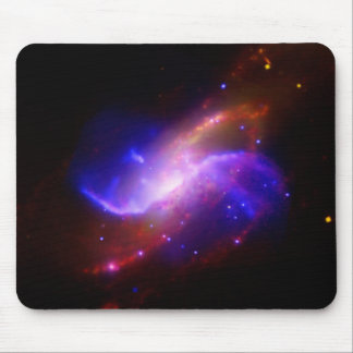 M106 Spiral Galaxy emission NASA Mouse Pad