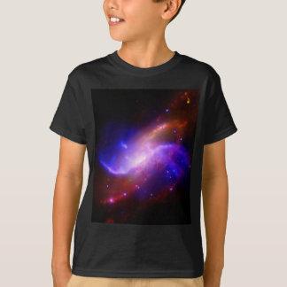 M106 Spiral Galaxy emission NASA T-Shirt