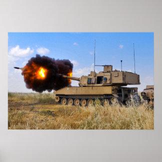 M109A6 Paladin Poster