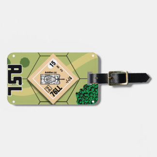 M10 Achilles Luggage Tag