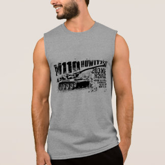 M110 howitzer Sleeveless T-shirts
