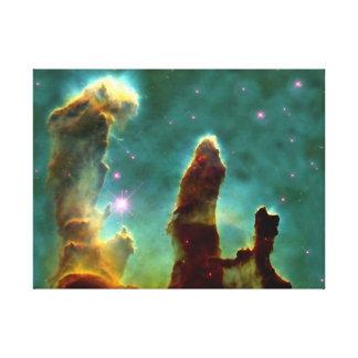 M16 Eagle Nebula or Pillars of Creation Canvas Print