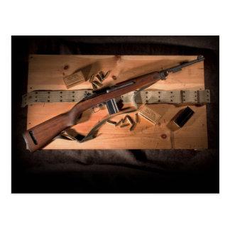 M1 Carbine Postcard