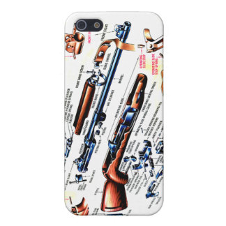 M1 Carbine Stripped Case For iPhone 5/5S