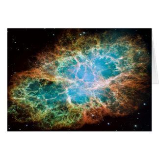 M1-Crab Nebula a Science & Astronomy Gift Idea Card