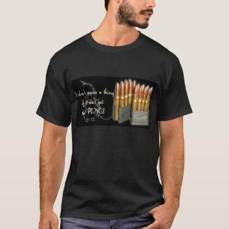 M1 Garand Ping Black T-Shirt