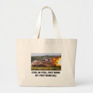 M1A1 ABRAMS TANK Tote Bag