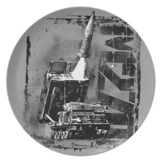 M270 MLRS Melamine Plate Melamine Plate