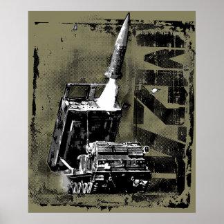 M270 MLRS posterpaper Template WT Poster