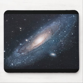 M31 Galaxy in Andromeda Mouse Pad