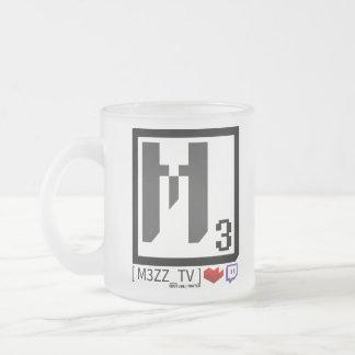 M3ZZ_TV Social Logo Glass Mug