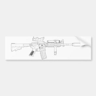 M4 SOPMOD Bumper Sticker