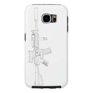 M4 SOPMOD Galaxy S6 Tough Case