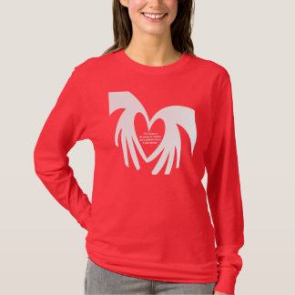 M4JC Jeremys Heart_wht T-Shirt