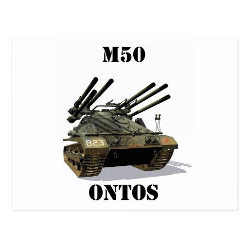 M50 Ontos Postcard