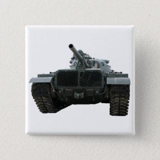 M60 Patton Tank 2 Inch Square Button