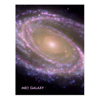M81 GALAXY POSTCARD