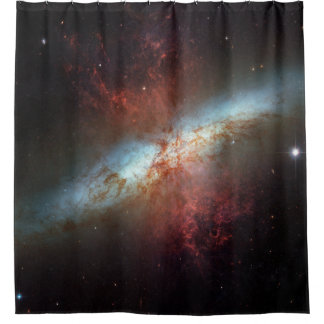 M82 Galaxy Shower Curtain