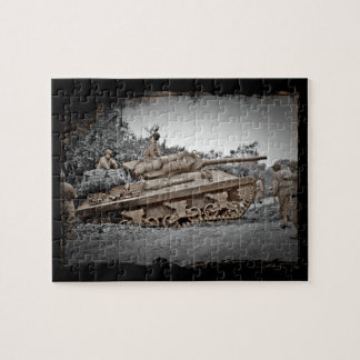 M-10 Tank Destroyer WWII Jigsaw Puzzle