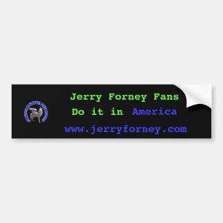 m_15ad35e4ea3b182008e07e3e2a14f3ee, Jerry Forne... Bumper Sticker