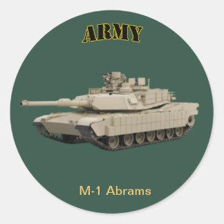 M-1 Abrams Sticker