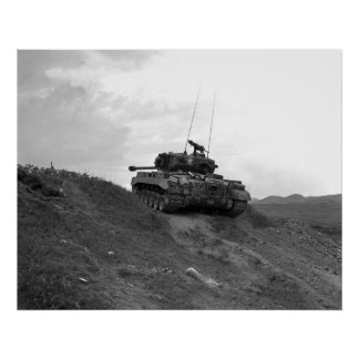 M-26 Pershing Poster