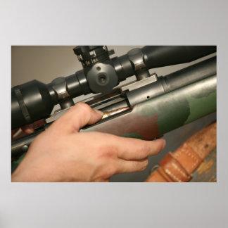 M-40 Sniper Rifle Poster