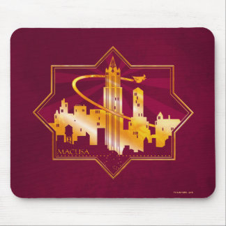 M.A.C.U.S.A. Graphic Badge Mouse Pad
