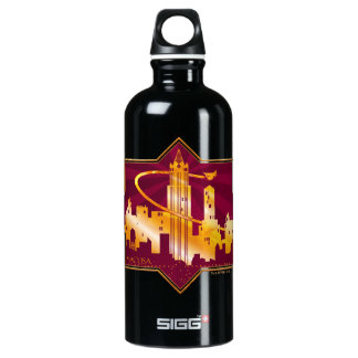 M.A.C.U.S.A. Graphic Badge Water Bottle
