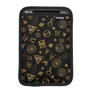 M.A.C.U.S.A. Magic Symbols And Crests Pattern iPad Mini Sleeve