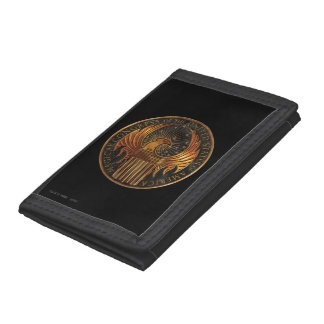M.A.C.U.S.A. Medallion Trifold Wallets